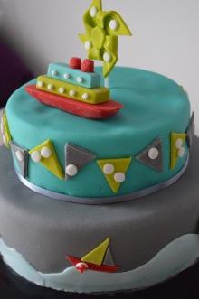 Gâteau d'anniversaire personnalisé Pas de Calais