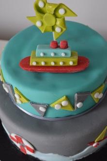 Gâteau d'anniversaire personnalisé Pas deCalais
