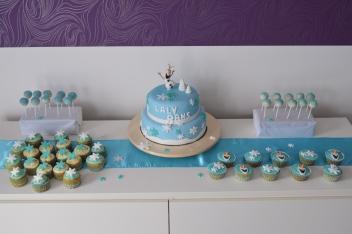Gâteau anniversaire Raine des Neiges Pas de Calais
