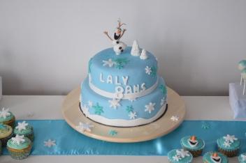 Gâteau anniversaire Reine des Neiges Pas de Calais