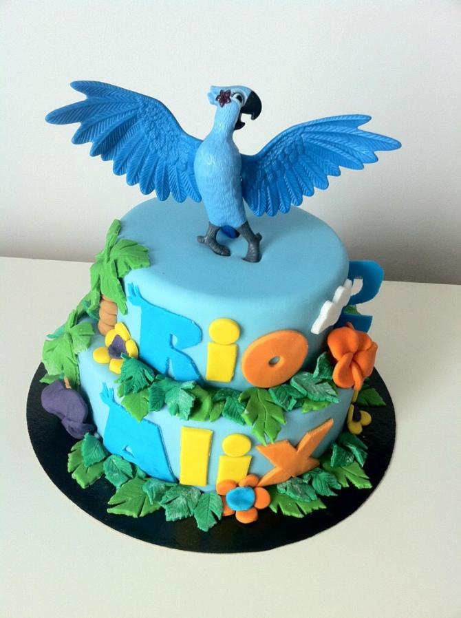Gâteau d'anniversaire Rio Pas de Calais