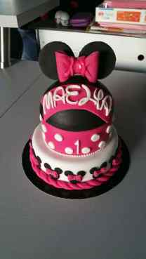 Gâteau anniversaire Minnie Calais