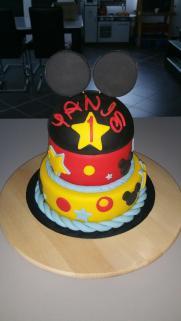 Gateau anniversaire Mickey Calais