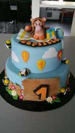 Gâteau anniversaire Tigrou Calais