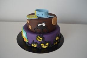 Gateau anniversaire Scooby Doo