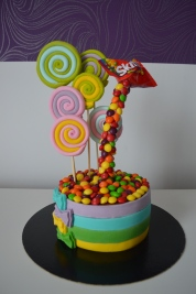 Gateau anniversaire Illusion cake Calais