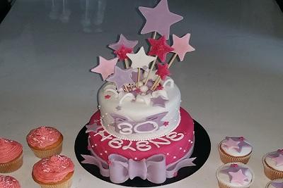 Gâteau Etoiles