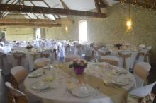 Décoration de mariage champêtre Calais